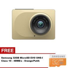 Spesifikasi Xiaomi Xiaoyi 1080P Wifi Car Dvr Camera With Adas Sistem Gold Gratis Samsung 32Gb 48Mb Ps Class 10 Online