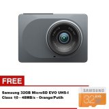 Jual Cepat Xiaomi Xiaoyi 1080P Wifi Car Dvr Camera With Adas Sistem Hitam Gratis Samsung 32Gb 48Mb Ps Class 10