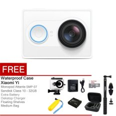 Model Xiaomi Yi Action Camera 16 Mp Putih Floating Shelves Full Package Terbaru