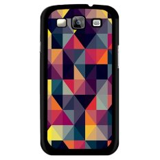 Y & M Abstrak Segitiga Phone Case untuk Samsung Galaxy J1 (Multicolor)