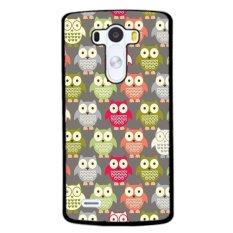 Jual Y M Kartun Owl Mobile Phone Case Cover Untuk Lg G4 Hitam Murah