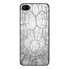 Dimana Beli Y M Cell Phone Case Untuk Iphone 4 4 S Geometris Sampul Cetak Seni Multicolor Y M