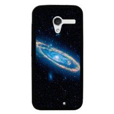 Y & M Cell Phone Case untuk Motorola Moto X Grate Galaxy Dicetak Cover (Multicolor)