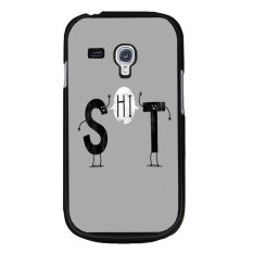 Beli Y M Cell Phone Case Untuk Samsung Galaxy S3 Mini Lucu Huruf Cetak Cover Multicolor Pake Kartu Kredit