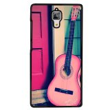Beli Y M Cell Phone Case For Xiaomi Mi 4 Beautiful Pink Guitar Pattern Cover Multicolor Y M Asli