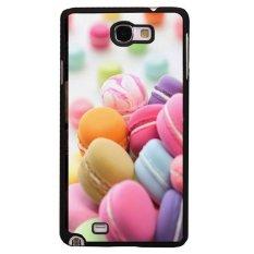 Review Toko Y M Colorful Macarons Pattern Meliputi Kasus Untuk Samsung Galaxy Note 1 Multicolor Online