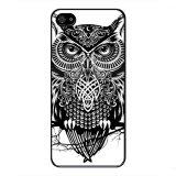 Jual Y M Cool Black Owl Pola Meliputi Kasus Untuk Black Berry Z10 Multicolor Ori