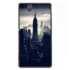 Jual Y M Dark Night City Phone Case Untuk Sony L36H Hitam Y M