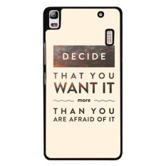 Jual Y M Memutuskan Bahwa Anda Ingin Lebih Dari Kau Takut Ini Ponsel Cover Untuk Lenovo A7000 Multicolor Online Tiongkok