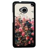 Toko Y M Elegan Rose Phone Case Untuk Htc M7 Pink Dekat Sini