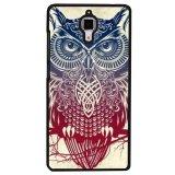 Harga Hemat Y M Fashion Owl Pola Burung Case Untuk Xiaomi Mi 4 Hitam