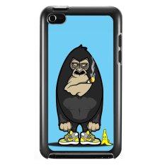 Review Y M Lucu Gorilla Pattern Meliputi Kasus Untuk Ipod Touch 4 Multicolor Di Tiongkok
