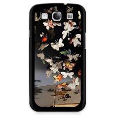 Y & M Gantung Koran Kupu-kupu Kerang Telepon untuk Samsung Galaxy E7 (Multicolor)