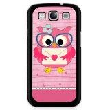 Y M Lovely Owl Pink Dicetak Phone Case Untuk Samsung Galaxy S5 E5000 Multicolor Y M Diskon 50