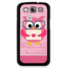 Harga Y M Lovely Owl Pink Dicetak Phone Case Untuk Samsung Galaxy S5 E5000 Multicolor Y M Ori