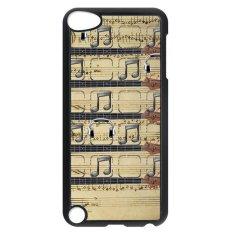 Cuci Gudang Y M Catatan Musik Asli Pola Cover Case Untuk Ipod Touch 5 Phone Case Multicolor