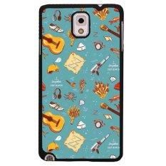 Y & M Painted Berbagai Phone Case untuk Samsung Galaxy Note 3 (Multicolor)
