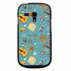 Y & M Painted Berbagai Phone Case untuk Samsung Galaxy S3 Mini Multicolor
