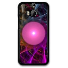 Y&M Phone Case For HTC M8 Pink Magic Ball Cover (Multicolor)