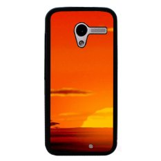 Beli Y M Phone Case For Motorola Moto X Beautiful Sunrise Printed Cover Multicolor Online Murah