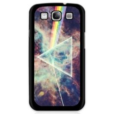 Y&M Rainbow and Triangle Phone Case for Samsung Galaxy E5 (Multicolor)