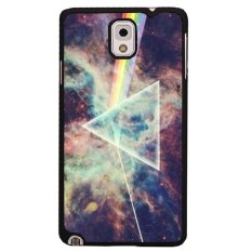 Y & M Rainbow dan Segitiga Phone Case untuk Samsung Galaxy Note 3 (Multicolor)