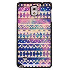 Y&M  Triangle Geometric Phone Cases for Samsung Galaxy Note 4 (Violet)
