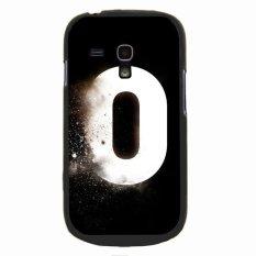 Y&M White Zero Number Phone Case forSamsung Galaxy S3 Mini (Multicolor)