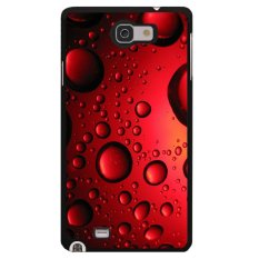 Diskon Y M Cell Phone Case For Samsung Galaxy Note 1 Clear Red Bead Pattern Cover Multicolor