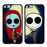 Y M Jack And Sally Iphone 6 6S Couple Phone Cover Multicolor Di Tiongkok