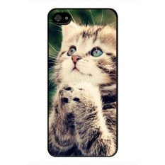 Jual Y M Lovely Cat Blackberry Z10 Phone Cover Multicolor Online