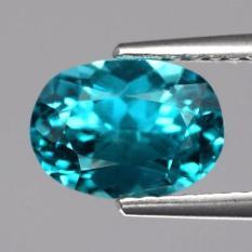 Jual Yenzshop Ap103 Oval 2 07Ct 8 5X6 2Mm Natural Untreated Paraiba Color Neon Blue Apatite Brazil Baru
