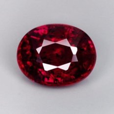 Beli Yenzshop Rb013 Oval 68Ct 5 5X4 5Mm Natural Unheated Untreated Pigeon Blood Red Ruby Madagascar Online Murah