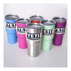 Harga Hemat Yeti Bilayer Stainless Steel Vacuum Insulated Bottle Mug Cups 30 Oz