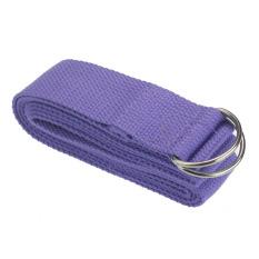 Harga Yoga Belts Stretch Strap D Ring Belt Waist Leg Fitness Exercise Gym Rope 180Cm Adjustable Purple 180Cm Yang Murah