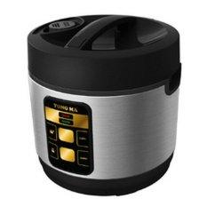Yongma Rice Cooker - Series MC3480 - Hitam/Silver