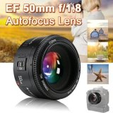 Iklan Yongnuo 50Mm F1 8 Af Mf Prime Fixed Lens For Canon 6D 7D 60D 70D 700D Dslr