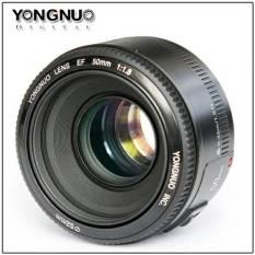 Yongnuo EF YN50mm f1.8 lensa for Canon 50 mm f 1.8 / f/1.8 untuk Bokeh