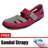 Promo Yutaka Sepatu Casual Pink Gratis Yutaka Strapy Sandal Krem Akhir Tahun
