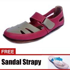 Promo Yutaka Sepatu Casual Pink Gratis Yutaka Strapy Sandal Krem Murah