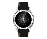 Jual Zgpax S7 Smartwatch Gsm Phone Android 4 4 Hitam Oranye Rubber Strap Branded