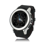 Toko Zgpax S7 Smartwatch Gsm Phone Android 4 4 Hitam Silver Rubber Strap Terlengkap