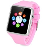 Spesifikasi Zgpax S79 Smartwatch Bluetooth Gsm Phone 1 3Mp Pink Rubber Strap Bagus