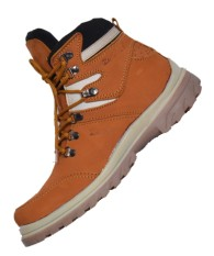 Jual Zimzam Sepatu Jogger Leather Buk Tan Antik