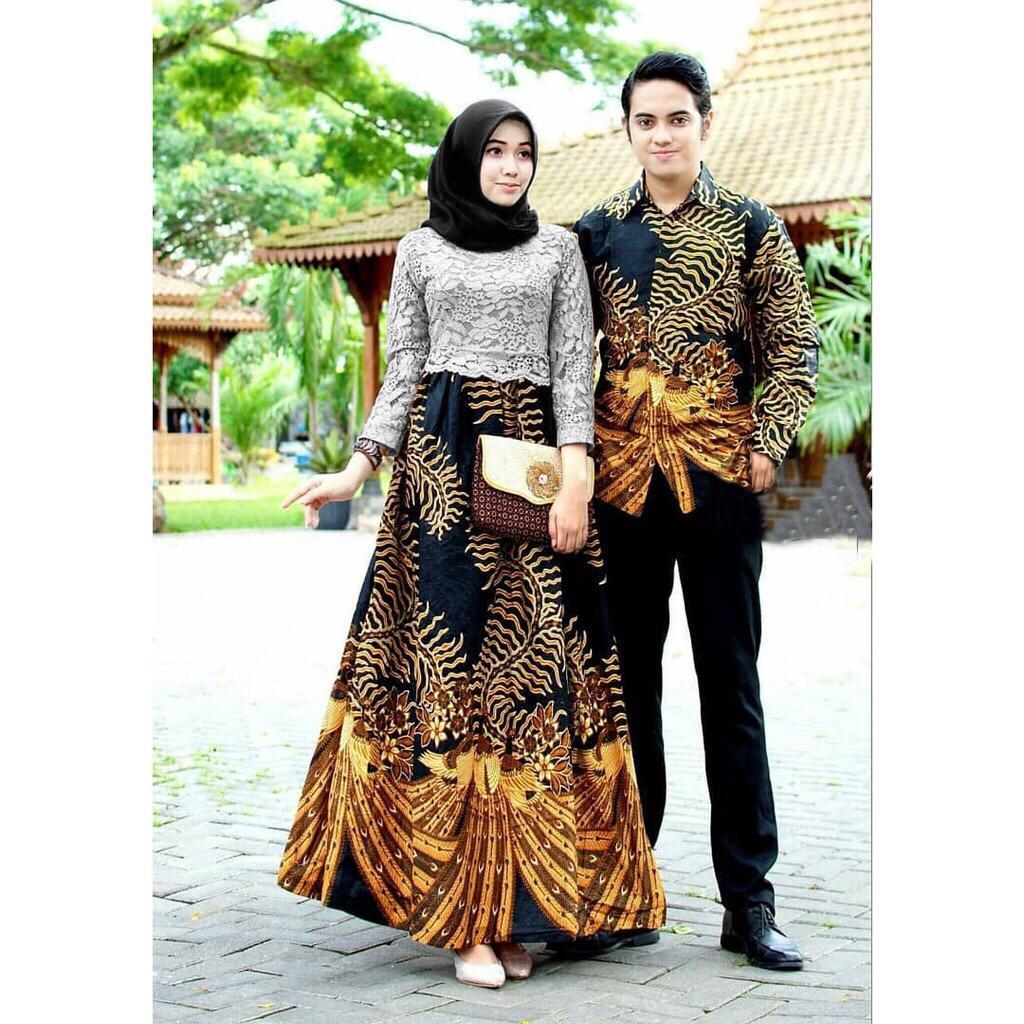 40+ Trend Terbaru Dress Batik Modern Design Baju Batik ...