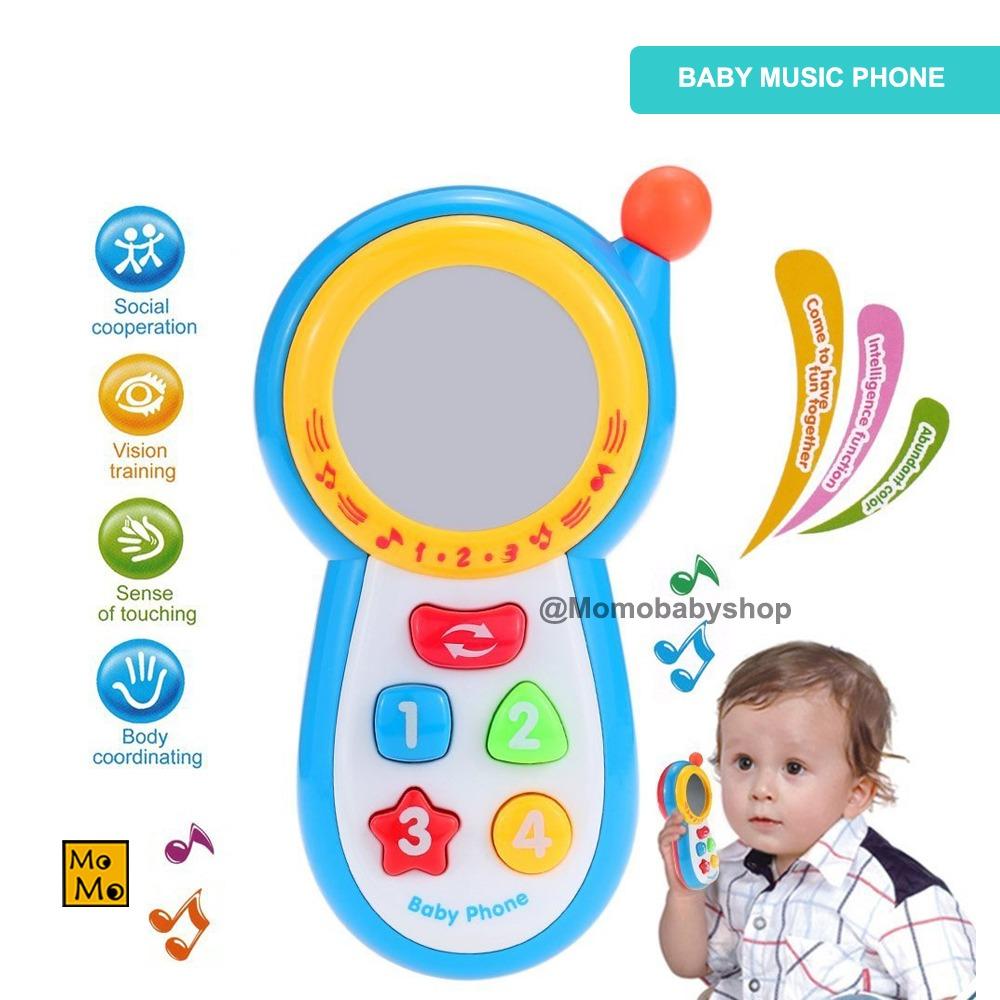 Bb Mart Baby Music Phone Mainan Musik Bayi Mainan Anak Mainan