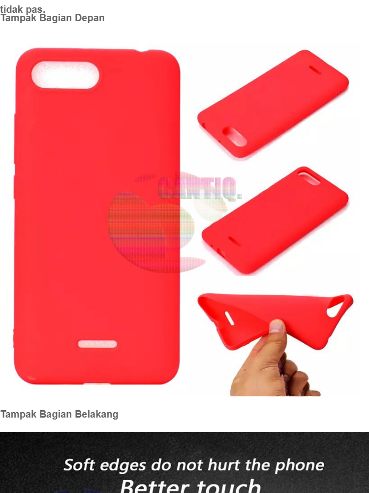Lize Jelly Case For Oppo A3S Candy Rubber Skin Soft Back Case / Softshell / Silicone Oppo A3S / Jelly Case / Ultrathin Oppo A3S / Case Lize Oppo A3S ...