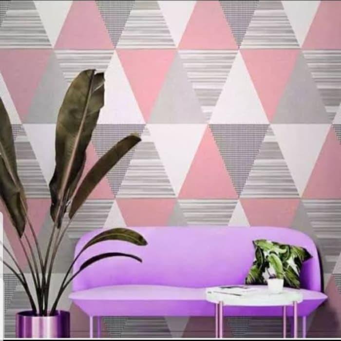 Wallpaper Dinding Kamar Tidur Murah Motif Geometri Abu Pink Walpaper Stiker Dekorasi Rumah Dapur Ruang Tamu Dekorasi Rumah Jual Walpeper Sticker Bisa Cod Praktis Ada Lem Langsung Tempel Setiker Tembok Kaca Wolpeper