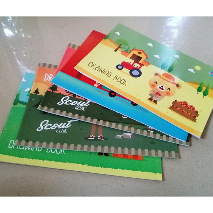 Buku Gambar Drawing Book A4 Membeli Jualan Online Buku Gambar Notebook Lukis Dan Folio Dengan Harga Murah Lazada Indonesia