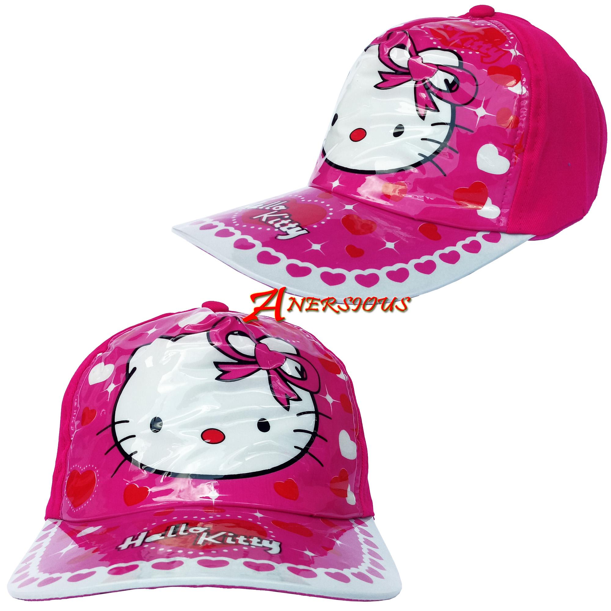 Topi Mika Anak Snapback Topi Anak Dengan Desain Karakter Hello Kitty Lucu